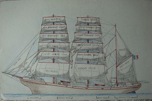 Jolis dessins de ma maman page 29 - Dessins de voiliers ...