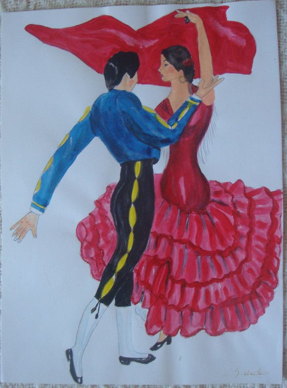 joli couple d'Espagol