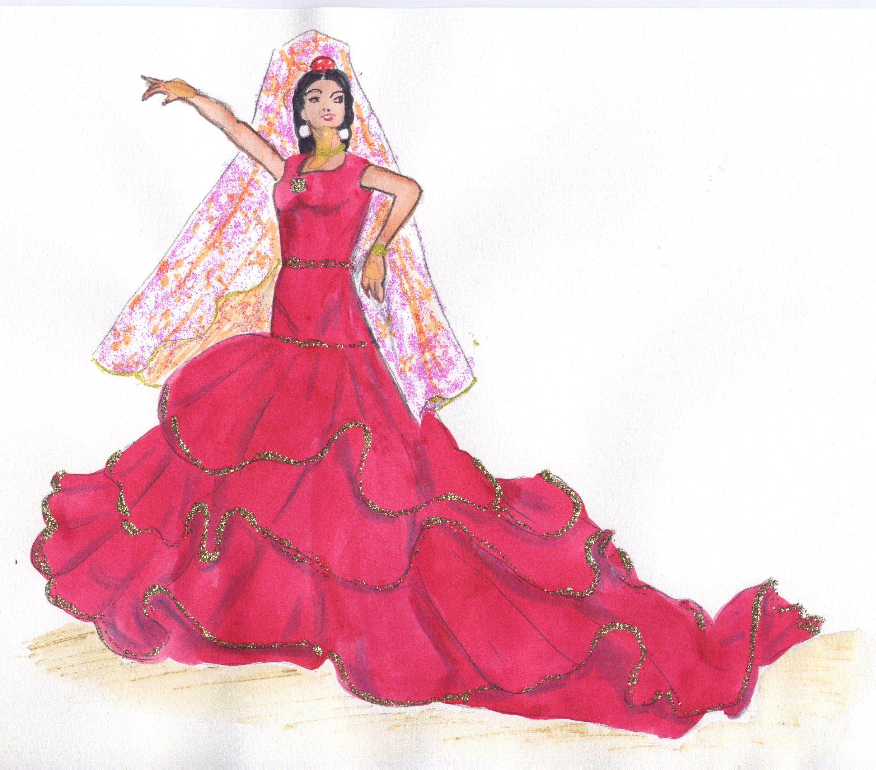 Femme Espagnol