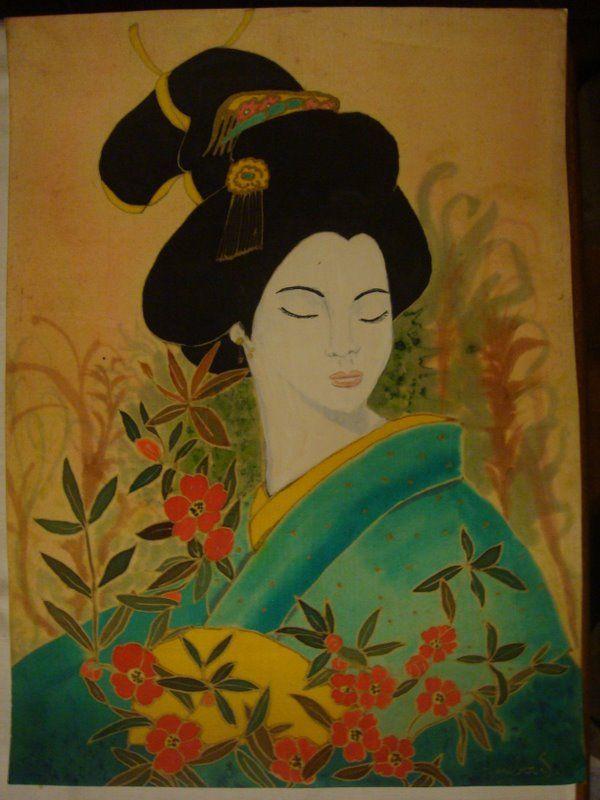 Jolie japonnaise