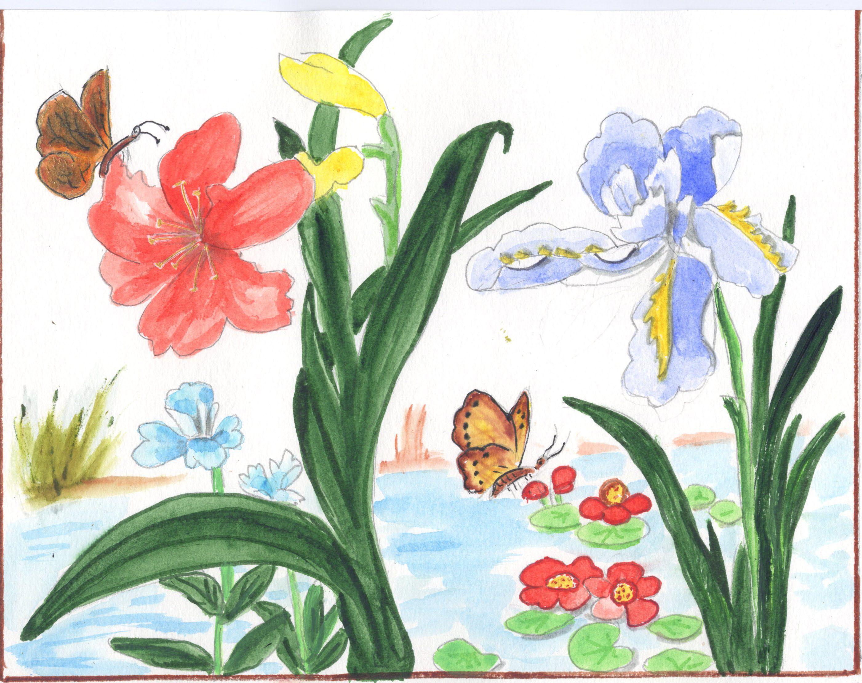 Fleur et papillon - Papillon fleur ...