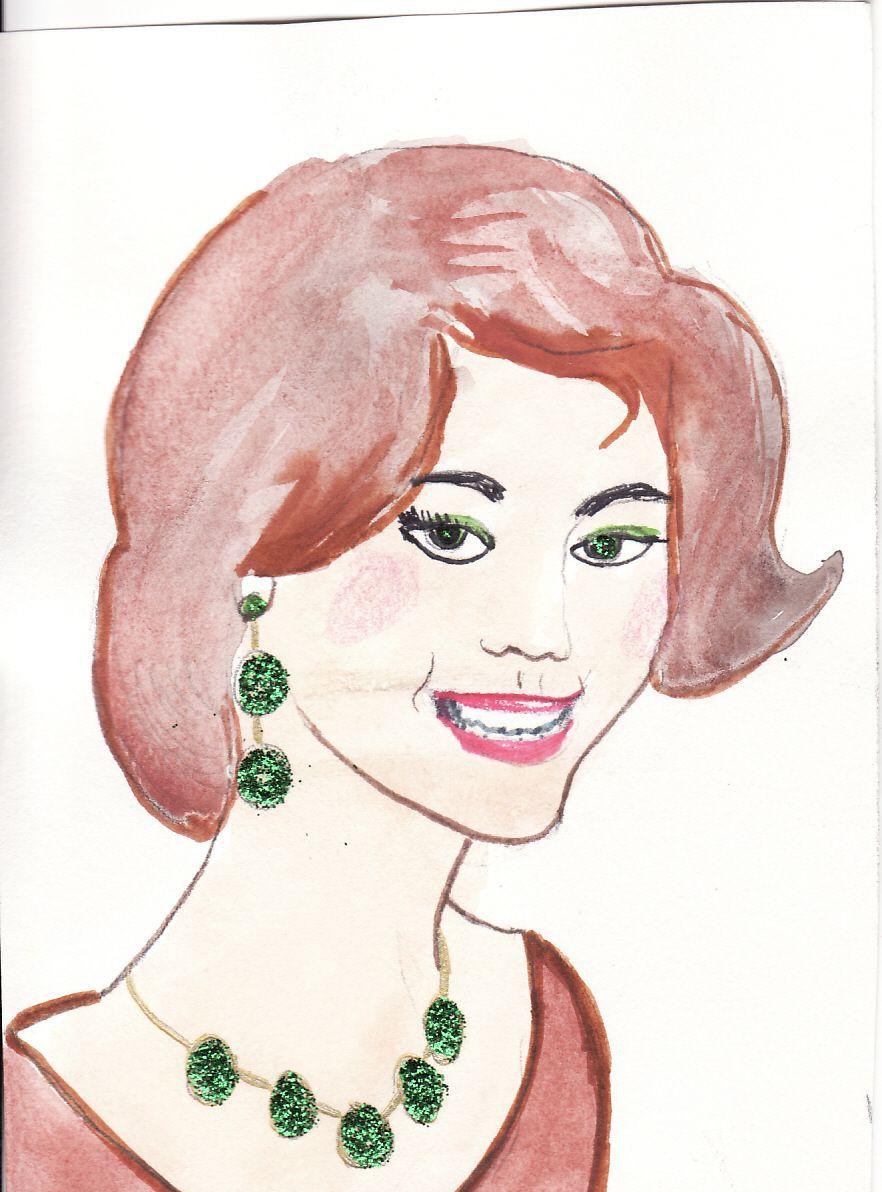 Dessin visage femme profil - Visage profil dessin ...